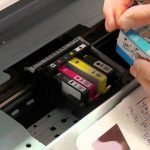 Različne vrste kartuš za uporabo v našem tiskalniku